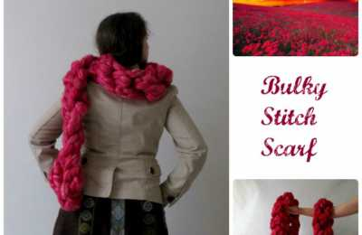 DIY Deluxe Chunky Scarf