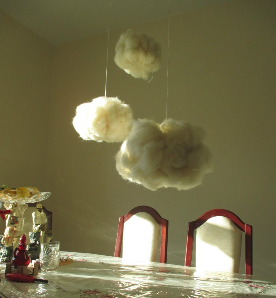 wool cloud decor