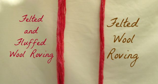 Why and How To Felt Wool Roving For Arm Knitting Yarn