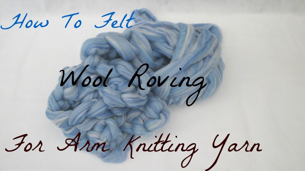 arm knitting yarn roving