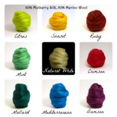 mulberry silk arm knitting yarn
