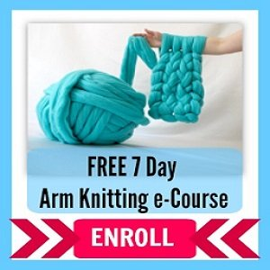 FREE Chunky Knit Blanket Course