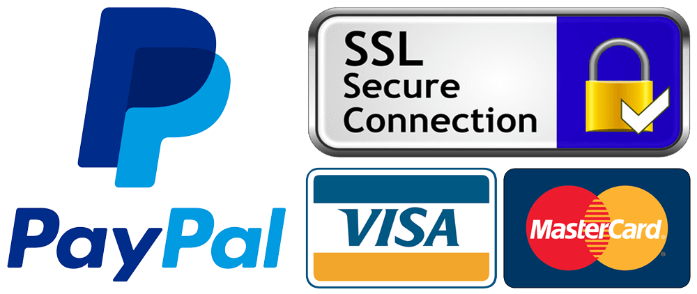 paypal, credit card, payments, ssl - Truly Majestic