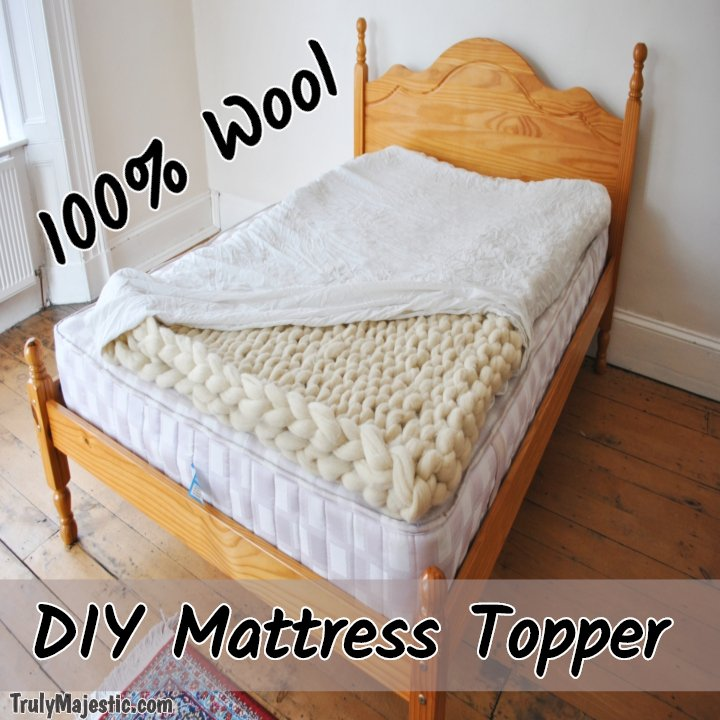 How to make your own mattress topper