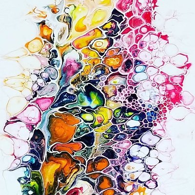 Acrylic Pouring Cells with Ann Osborne