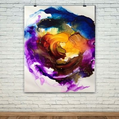 DIY Alcohol Ink Art You've Never Seen Before