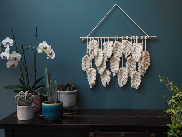macrame wallhanging